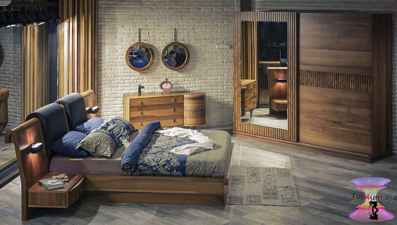 أنواع الخشب لتفصيل غرف النوم