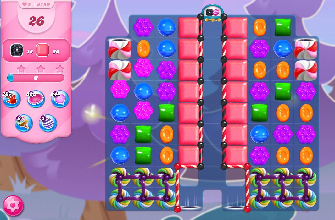Candy Crush Saga level 8190