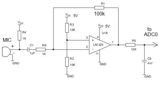 mic recorder circuit