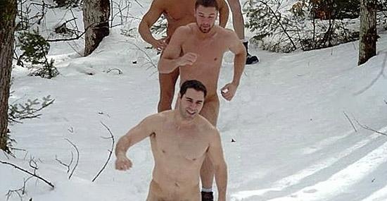Qual é a temperatura mais baixa que um ser humano pode aguentar - Homens no gelo