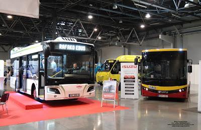 Rafko E-bus i Isuzu Novociti Life LE, SilesiaKOMUNIKACJA 2019