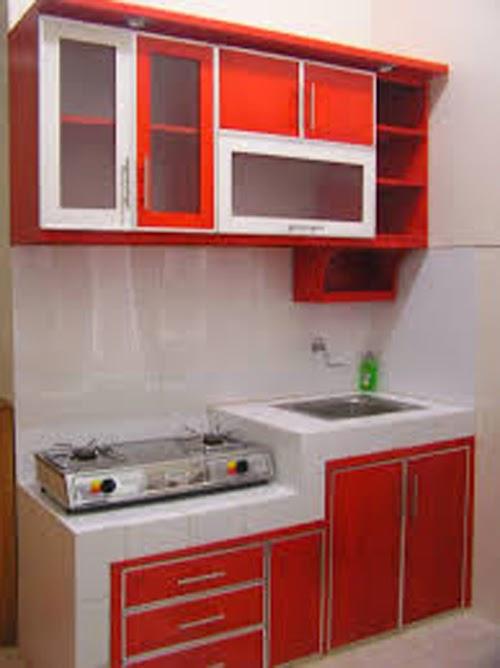 Dapur mungil nan cantik for Buat kitchen set