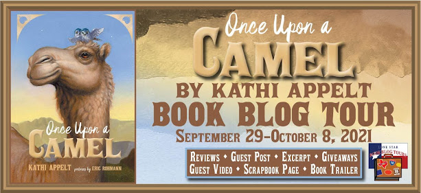 Once Upon a Camel book blog tour promotion banner