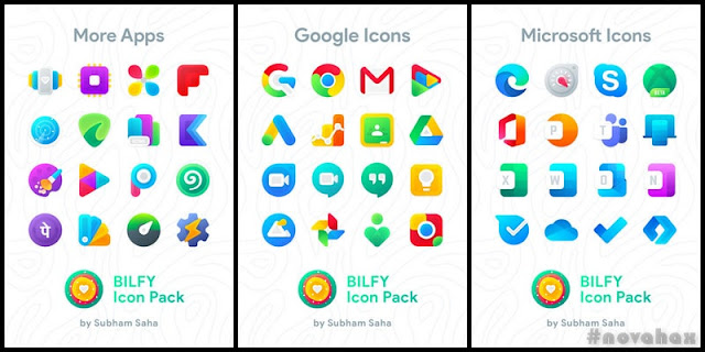 Bilfy icon pack apk free download