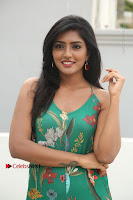 Actress Eesha Latest Pos in Green Floral Jumpsuit at Darshakudu Movie Teaser Launch .COM 0057.JPG