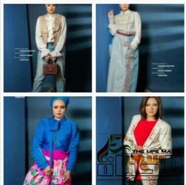 """المصممة """"ياسمين خطاب"""" تطلق أحدث صيحات الموضة للأزياء والتربون لصيف 2018"""
