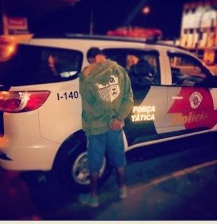 POLÍCIA MILITAR PRENDE PROCURADO PELA JUSTIÇA EM REGISTRO-SP
