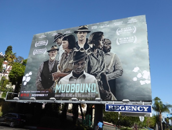 Mudbound Netflix film billboard