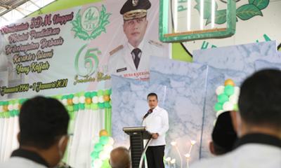 Musa Rajekshah Apresiasi Pendiri PAB Atas Sumbangsih Dunia Pendidikan di Sumut