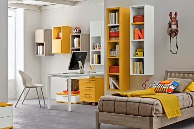 Dormitorios juveniles modernos colores en casa for Cuarto adolescente