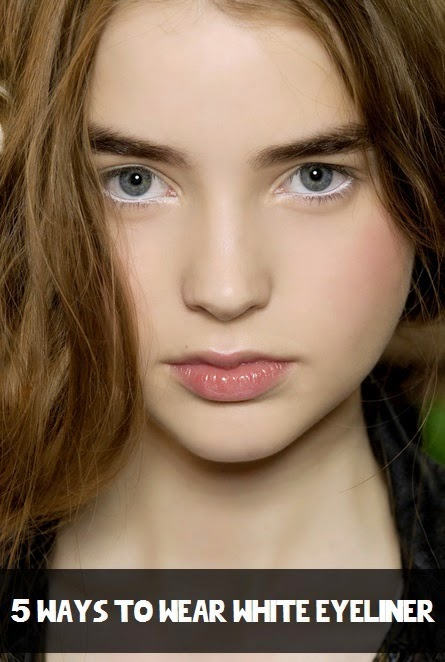 5 Ways to Wear White EyeLiner