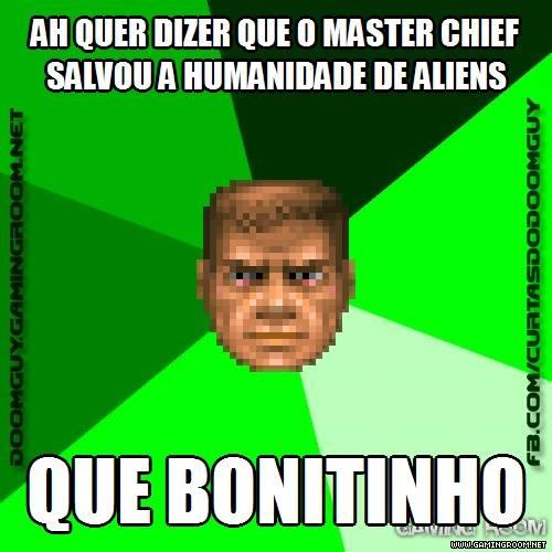Master Chief salvou a humanidade dos aliens