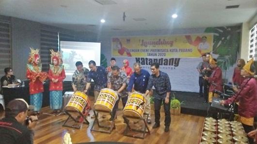 Launching Kalender Event Pariwisata 2020, Pemko Padang Targetkan 5 Juta Wisatawan