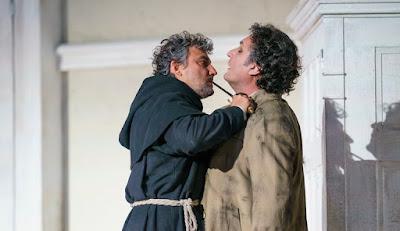 Verdi: La forza del destino - Jonas Kaufmann, Ludovic Tezier - Royal Opera (photo ROH/Bill Cooper)