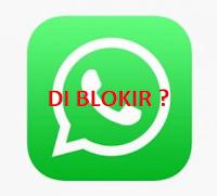 Dalam penggunaan whatsapp kita bisa memblokir sesorang yang jail dengan kita. Tapi apa jadinya kalau kita yang menjadi orang yang di blokir ama si doi. Simak 4 ciri - ciri tandanya kamu sedang di blokir di whatsapp.