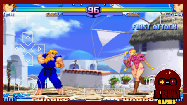 تحميل لعبة الاكشن و قتال الشوارع Street Fighter Zero 3 psp بصيغة iso و بحجم صغير للاندرويد ppsspp
