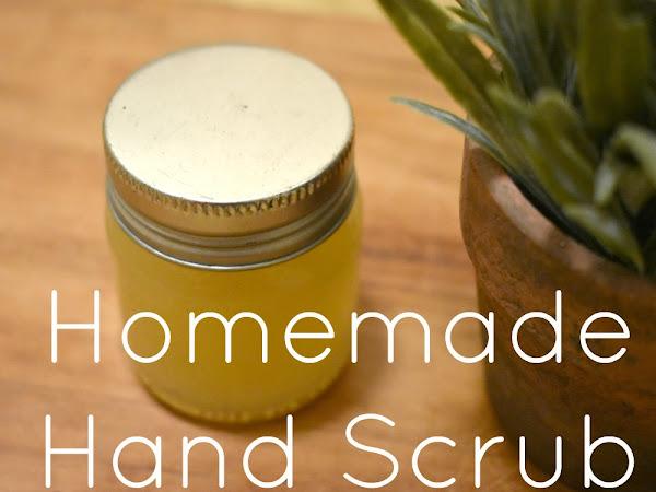 Homemade Hand Scrub