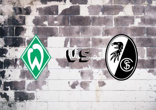 Werder Bremen vs Freiburg  Resumen