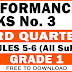 GRADE 1 3RD QUARTER PERFORMANCE TASKS NO. 3 (All Subjects - Free Download)