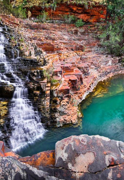 Karijini National Park, Australia, Joffre Gorge Falls