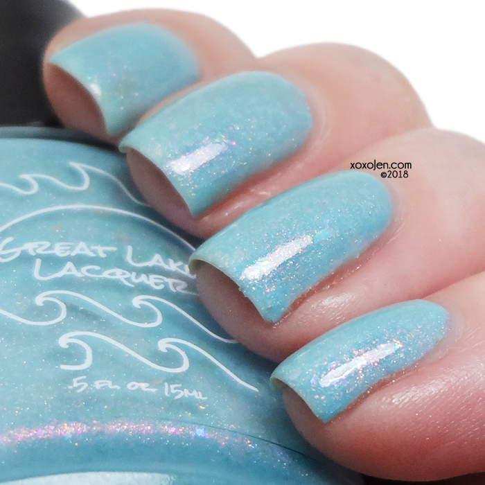 xoxoJen's swatch of Great Lakes Lacquer Fear No Drawbridge