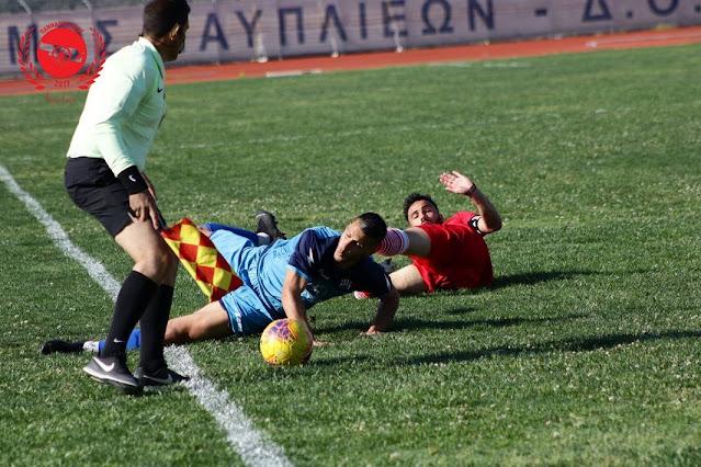 Νικηφόρο πέρασμα του ΠΑΟ Ρουφ με 2-1 από το Ναύπλιο