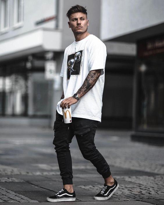 Men's Oversized T-Shirt | Teaching Men's Lifestyle