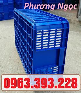 Sọt nhựa đựng nông sản, sóng nhựa rỗng HS009, sọt cao 19, sọt nhựa nguyên sinh 42e6cedb922870762939