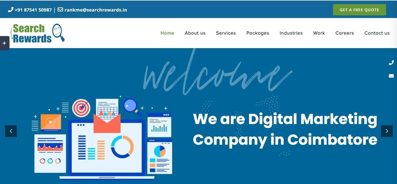 Search Rewards - Digital Marketing Company