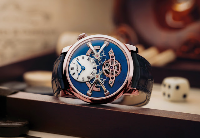 MB&F Legacy Machine No.2 Red Gold Blue