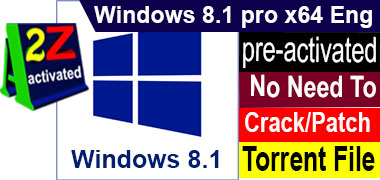 [preactivated] Windows 8.1 pro 64 bit Eng Torrent