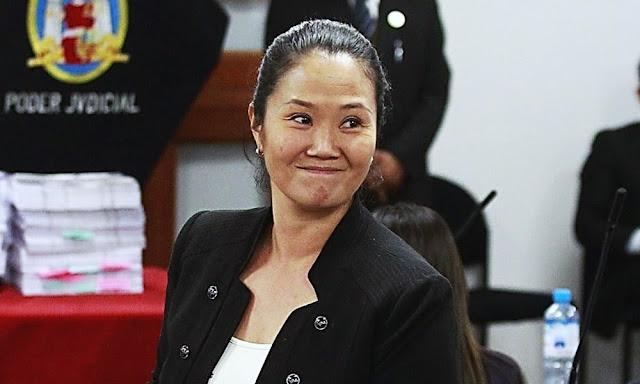 Keiko Fujimori es liberada de la cárcel