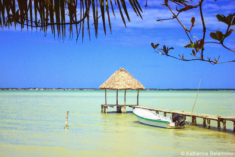 Cerros Beach Resort Pier Belize