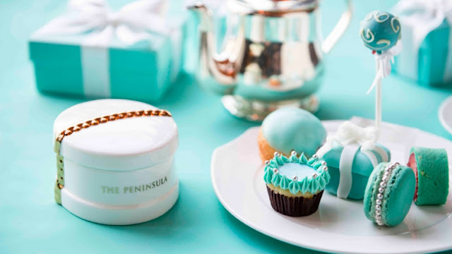 Brilliant Luxury ♦ Tiffany Afternoon Tea at Peninsula Bangkok by Executive Pastry Chef Nicolas Pelloie
