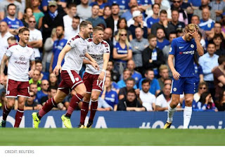 Chelsea vs Burnley 2 - 3 Video Gol & Highlights EPL 12/8/2017