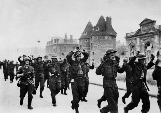 Allied prisoners after the Dieppe raid worldwartwo.filminspector.com