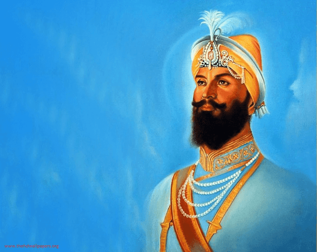 Guru Gobind Singh Ji Tenth Sikh Guru Photo Image Wallpapers