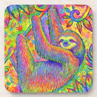 Psychedelic Sloth Collection