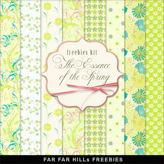 Freebies Kit - The Essence of the Spring