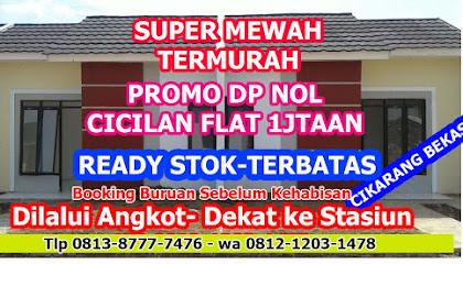 Promo Rumah Subsidi Double Dinding DP 3Jt Dilalui Angkot- Dekat Ke Stasiun