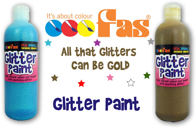 FAS - Fine Art Supplies school Glitter Paints