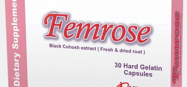 سعر ودواعى إستعمال فيمروز FemRose كبسولات مكمل غذائي