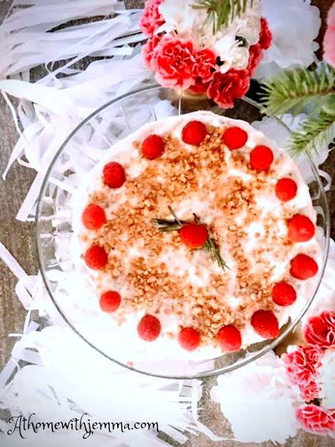 recipe, cake, holiday, Christmas, Sponge, recipes, Mary, Berry, athomewithjemma