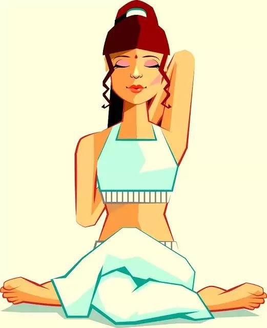 Gomukhasana Yoga - गोमुखासन योग
