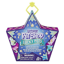 Littlest Pet Shop Lucky Pets Lucky Pets Glow-in-the-Dark Eyes Catnip (#No#) Pet