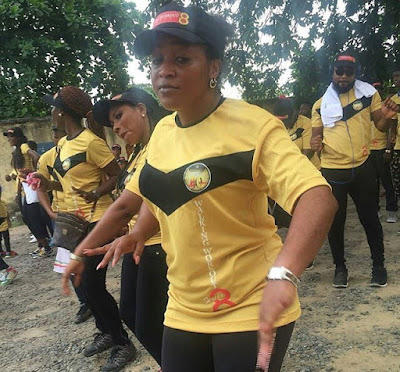 nollywood fitness walk