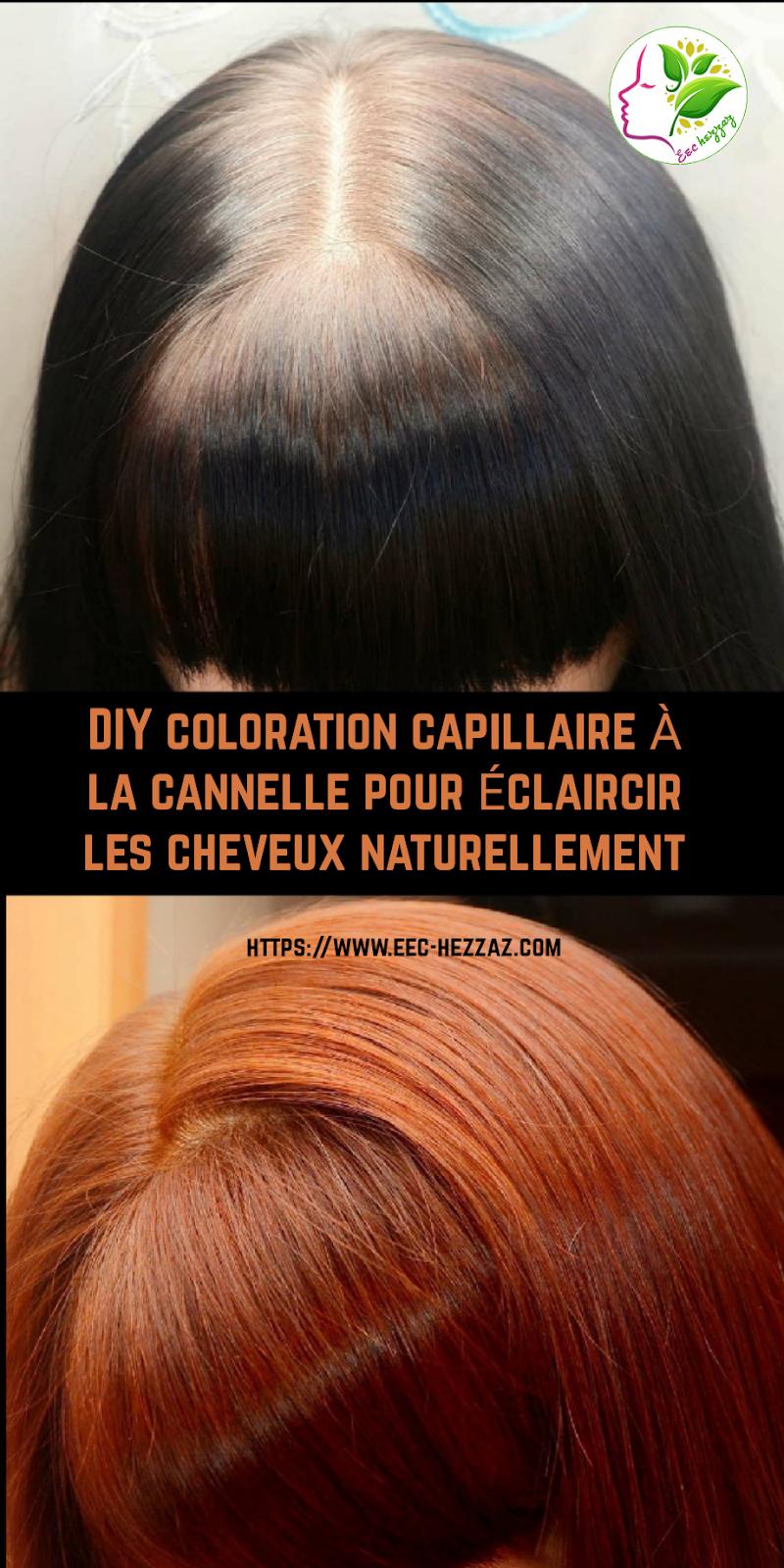 DIY coloration capillaire à la cannelle pour éclaircir les cheveux naturellement