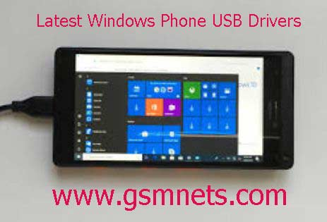 Latest Windows Phone USB Drivers Download
