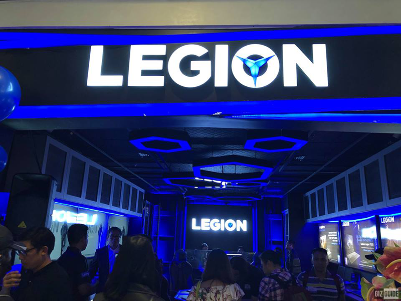 Lenovo opens its first Legion concept store in PH, showcases Legion Y740 gaming laptop