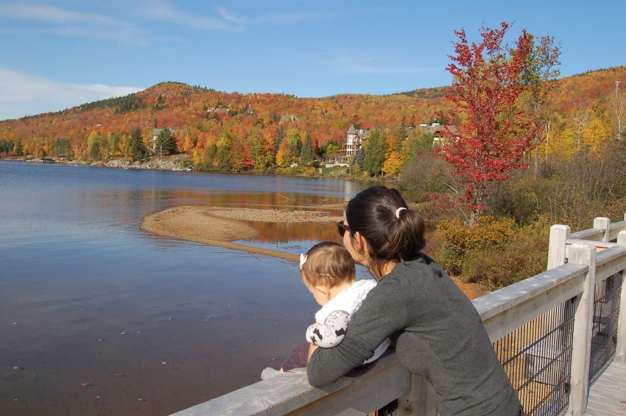 Mont Tremblant Village, Canadá - De Chicago ao Canadá - Viagem Internacional com Bebê